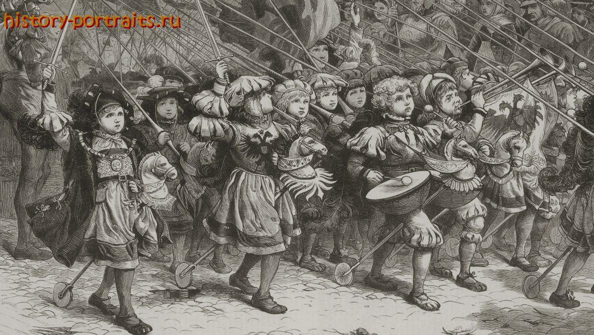 В чем суть детского крестового похода 1212 года